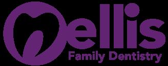 Nellis Family Dentistry Purple Logo - Small